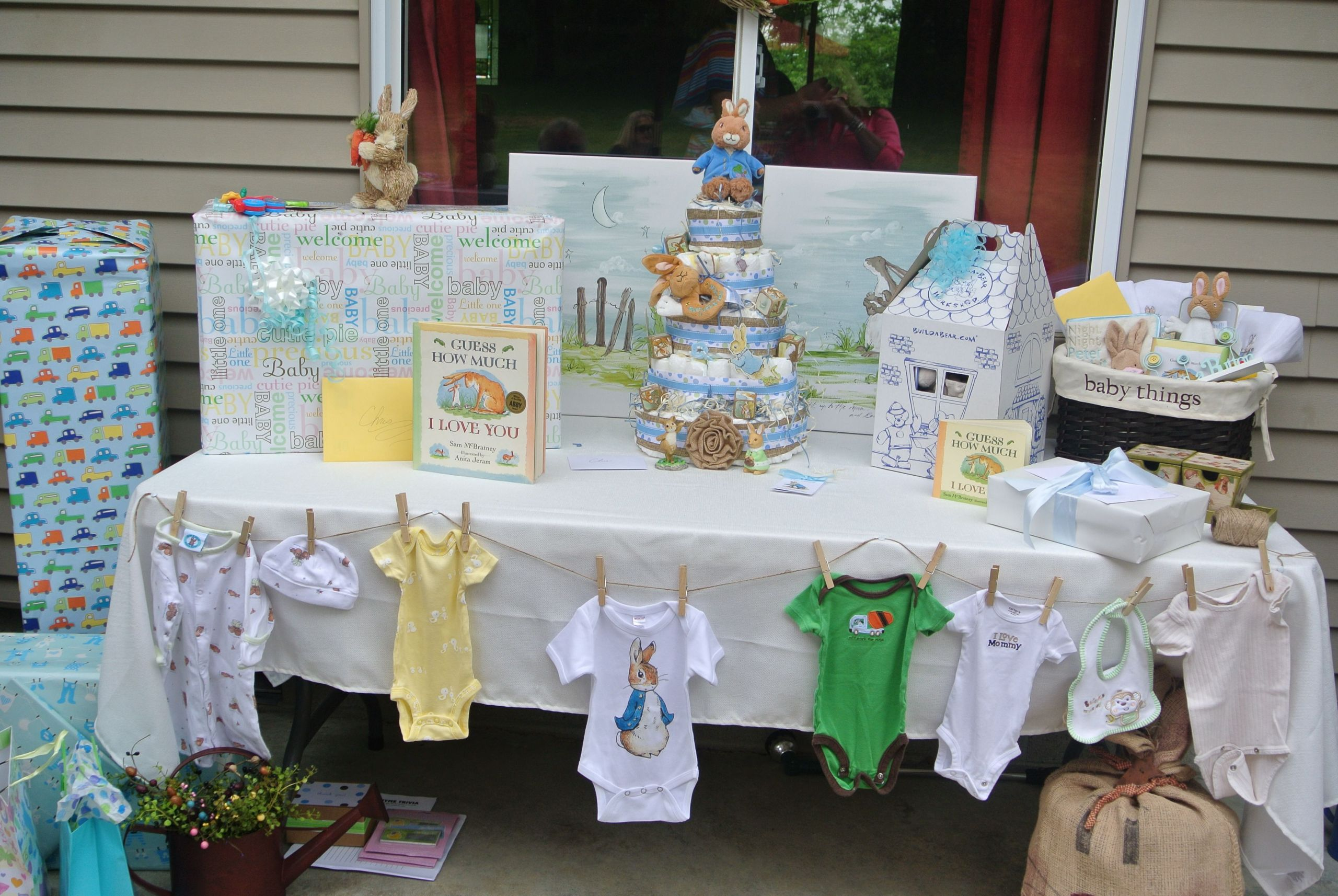 Gift Table Baby Shower Ideas  baby shower t table