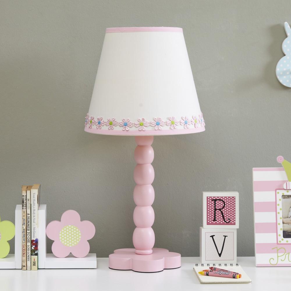 Girls Bedroom Table Lamp  Table Lamp For Girls Pink Lamps The Bedroom Led E27 Flower