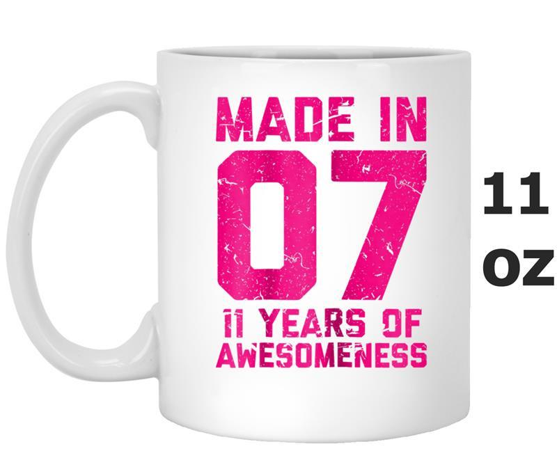 Girls Gift Ideas Age 11  11th Birthday Gift Girls Age 11 Eleven Year Old Girl T Mug