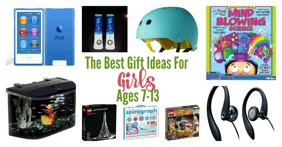Girls Gift Ideas Age 11  Gift Ideas for Girls ages 7 13 Fabulessly Frugal