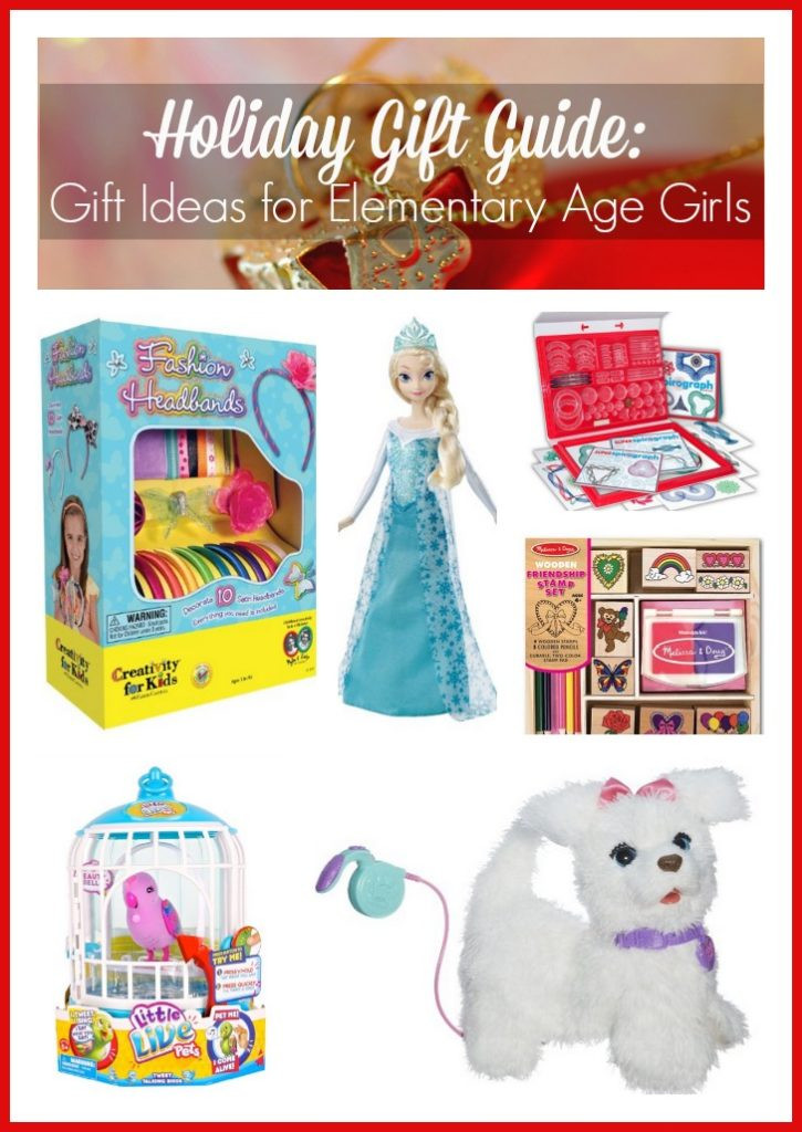 Girls Gift Ideas Age 11  Holiday Gift Guide Gift Ideas for Elementary Age Girls