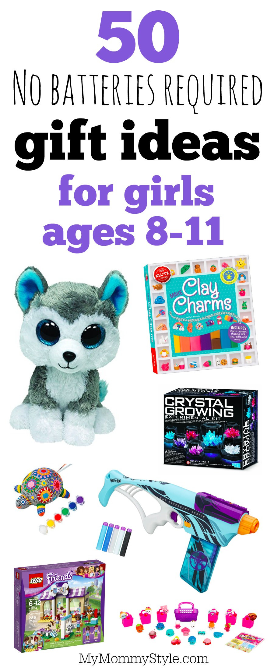 Girls Gift Ideas Age 11  No batteries required t ideas for girls ages 8 11 My