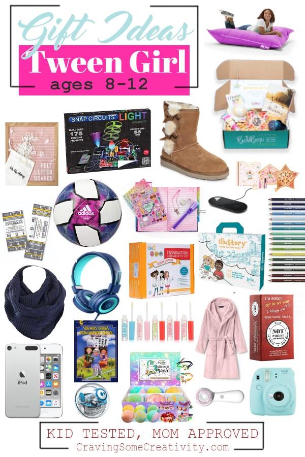 Girls Gift Ideas Age 11  BEST GIFTS FOR TWEEN GIRLS – AROUND AGE 10