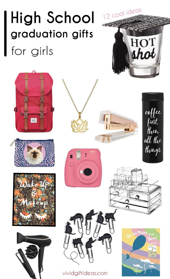 Grad Gift Ideas For Girls  12 Cool Graduation Gifts for The High School Girls Vivid