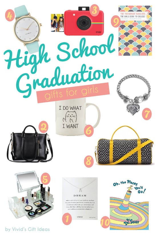 Grad Gift Ideas For Girls  2016 High School Graduation Gift Ideas for Girls Vivid s