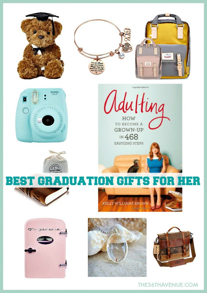 Grad Gift Ideas For Girls  Graduation Gift Ideas She Will Love The 36th AVENUE