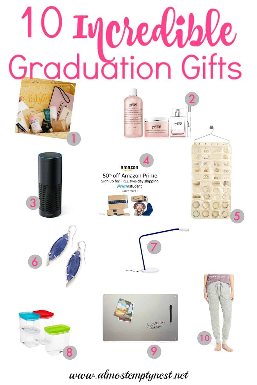 Grad Gift Ideas For Girls  10 Incredible Graduation Gifts for Girls Almost Empty Nest