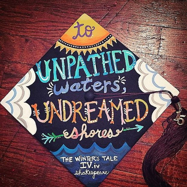 Graduation Cap Quotes  60 Awesome Graduation Cap Ideas