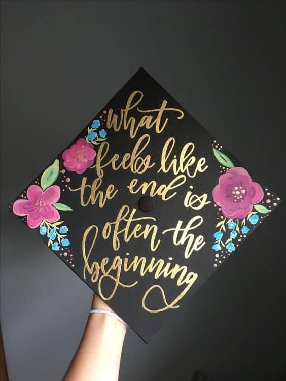 Graduation Cap Quotes  Clever Graduation Cap Ideas