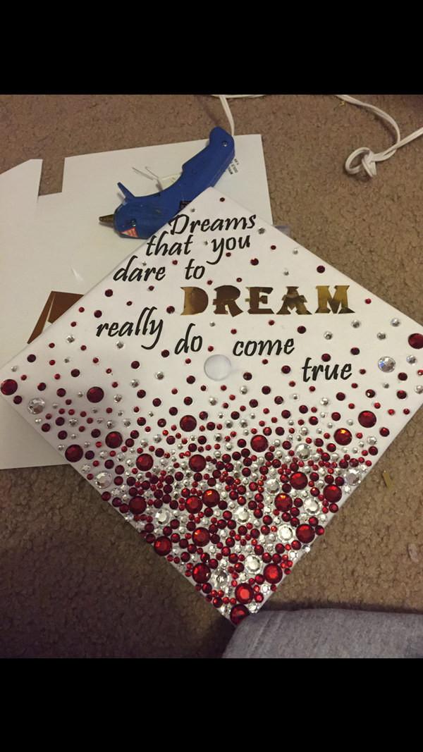 Graduation Cap Quotes  50 Super Cool Graduation Cap Ideas Hative