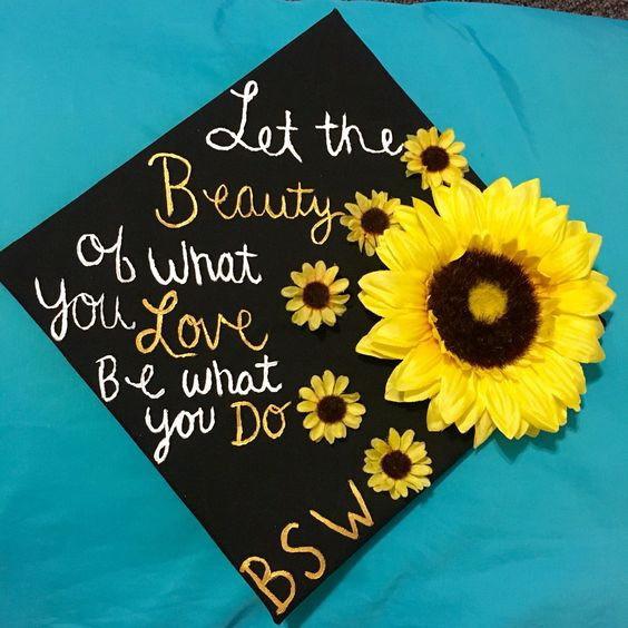 Graduation Cap Quotes  Awesome Graduation Cap Decoration Ideas For Creative Juice
