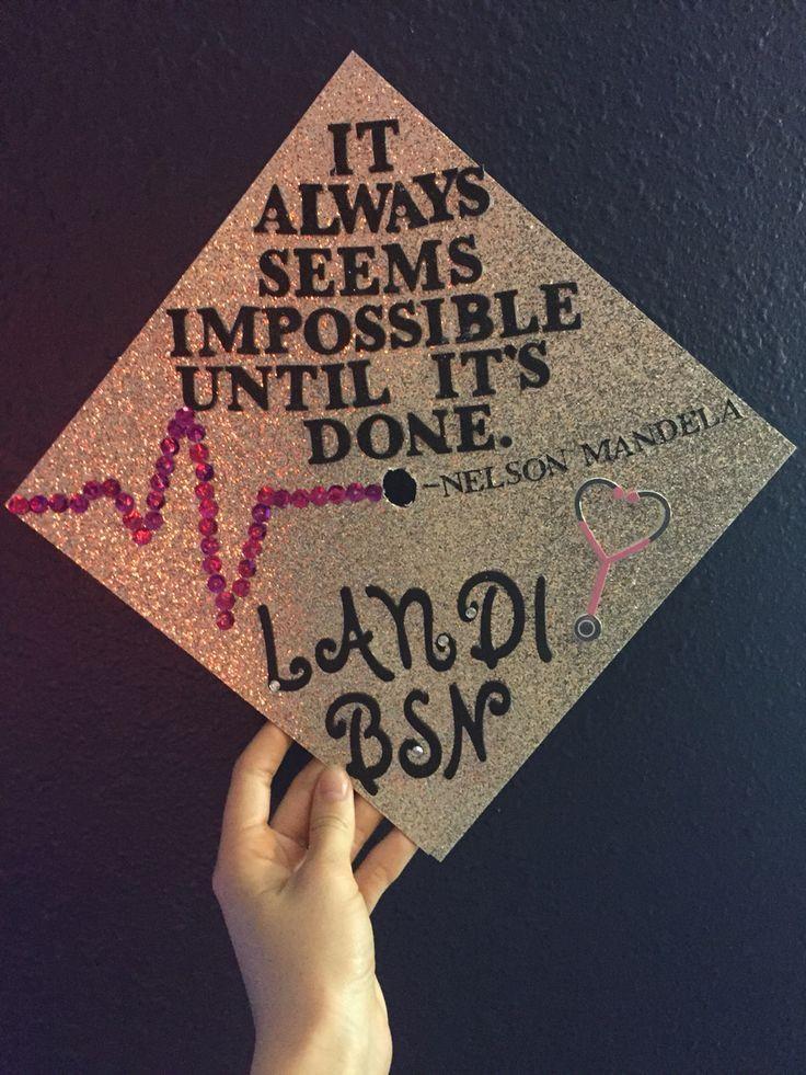 Graduation Cap Quotes  Image result for grad cap quotes nurse