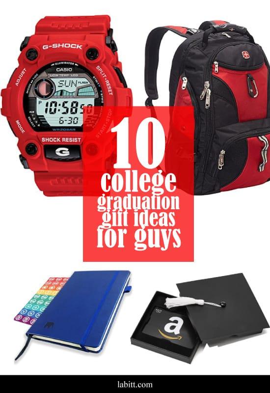 Graduation Gift Ideas College Grads  10 College Graduation Gift Ideas Guys LOVE [Updated 2019]