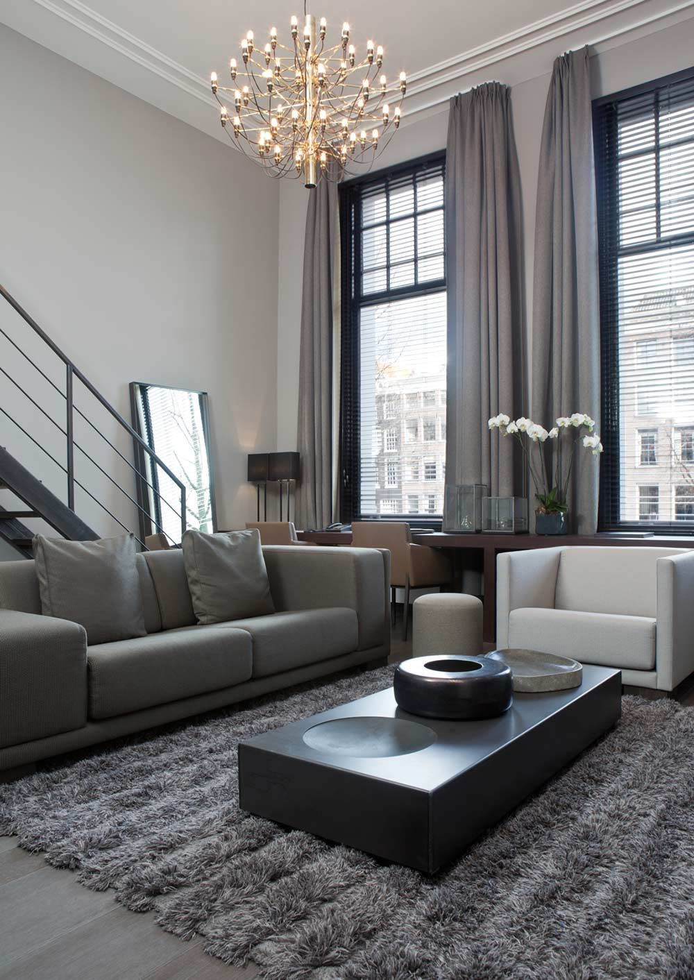 Gray Living Room Curtains  The Best Curtains for Modern Interior Decorating