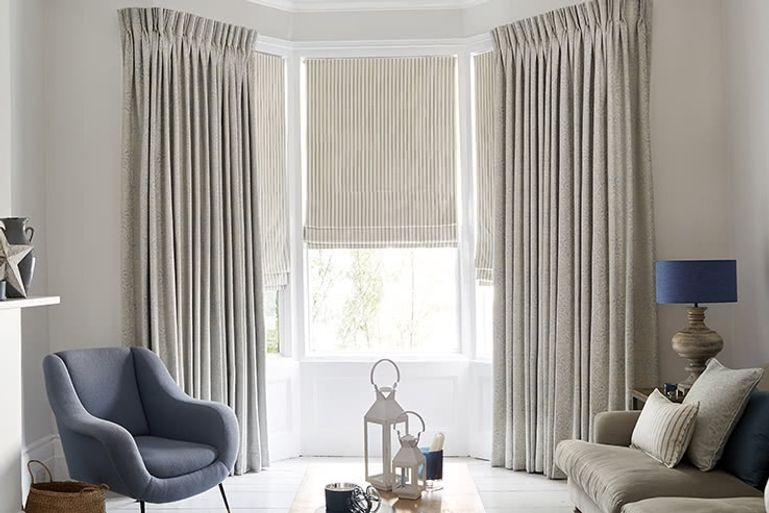 Gray Living Room Curtains  Living Room Curtains