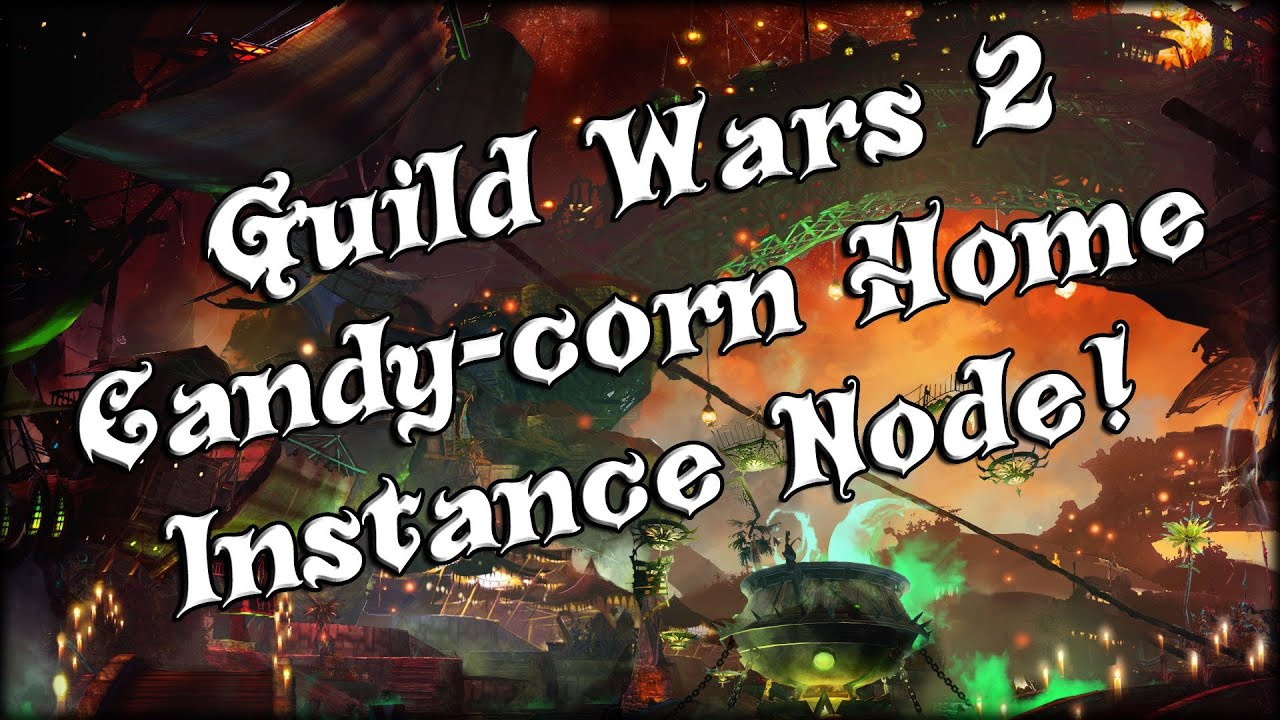 Gw2 Candy Corn  Guild Wars 2 Raw Candy Corn Home Instance Node And