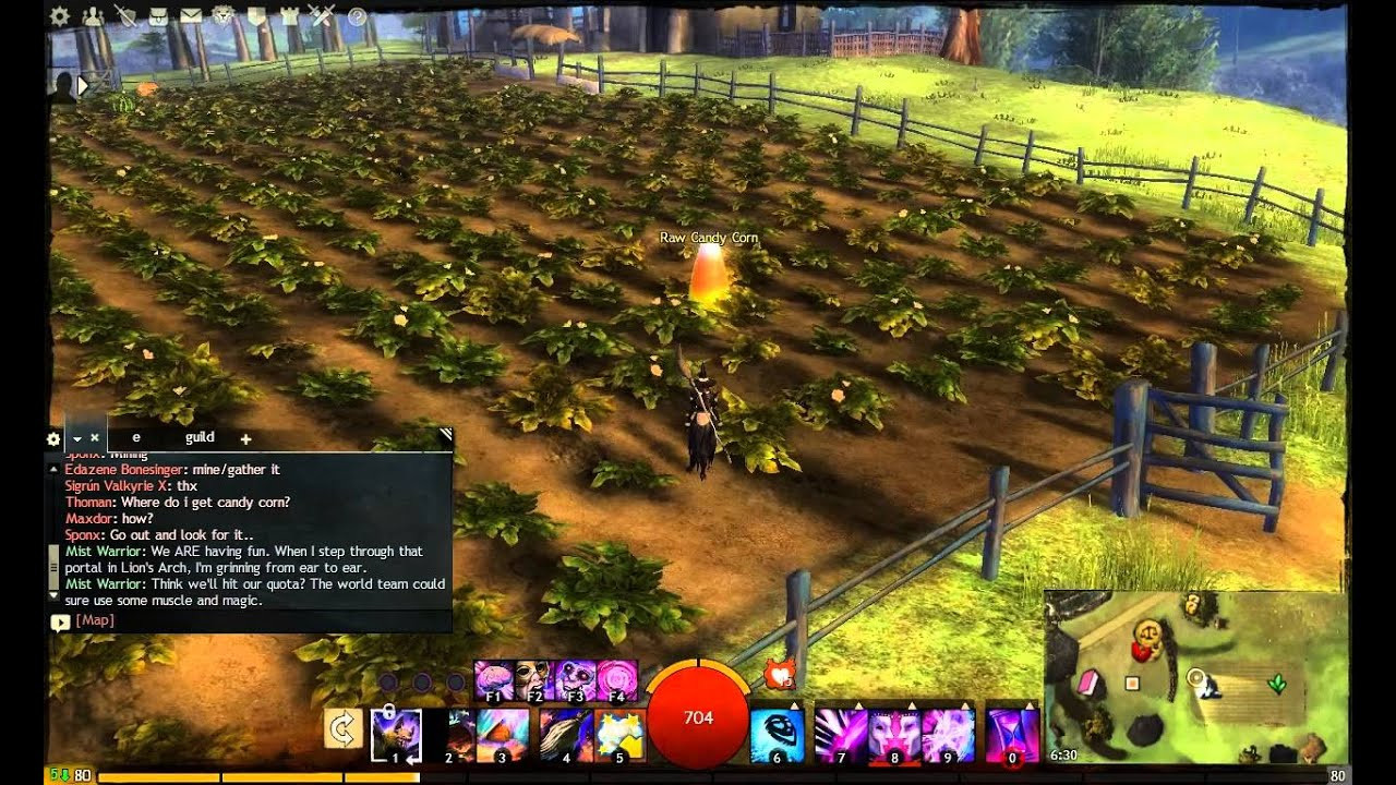 Gw2 Candy Corn  How to Mine Candy Corn Guild Wars 2 Halloween Event