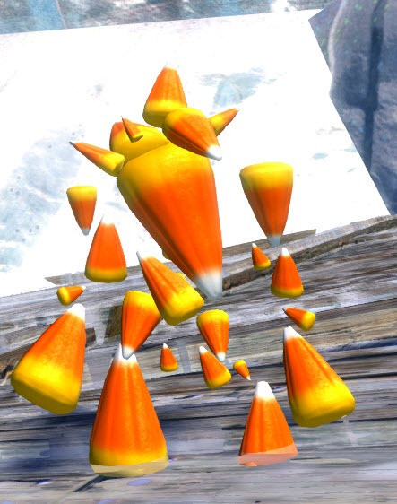 Gw2 Candy Corn  GW2 Blood and Madness Halloween Minis Dulfy