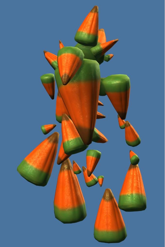 Gw2 Candy Corn  Mini Candy Corn Ghoulemental Guild Wars 2 Wiki GW2W