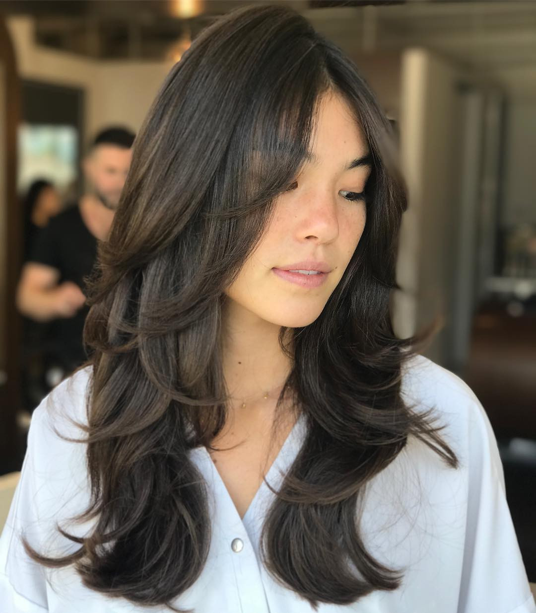 Haircuts With Layers For Long Hair  40 Trendy Hairstyles and Haircuts for Long Layered Hair To