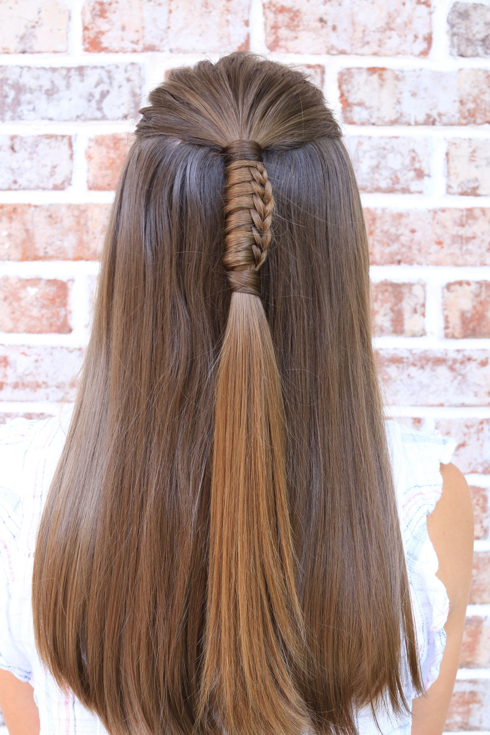 Hairstyle For Girls  5 Easy Hairstyles for Back to School