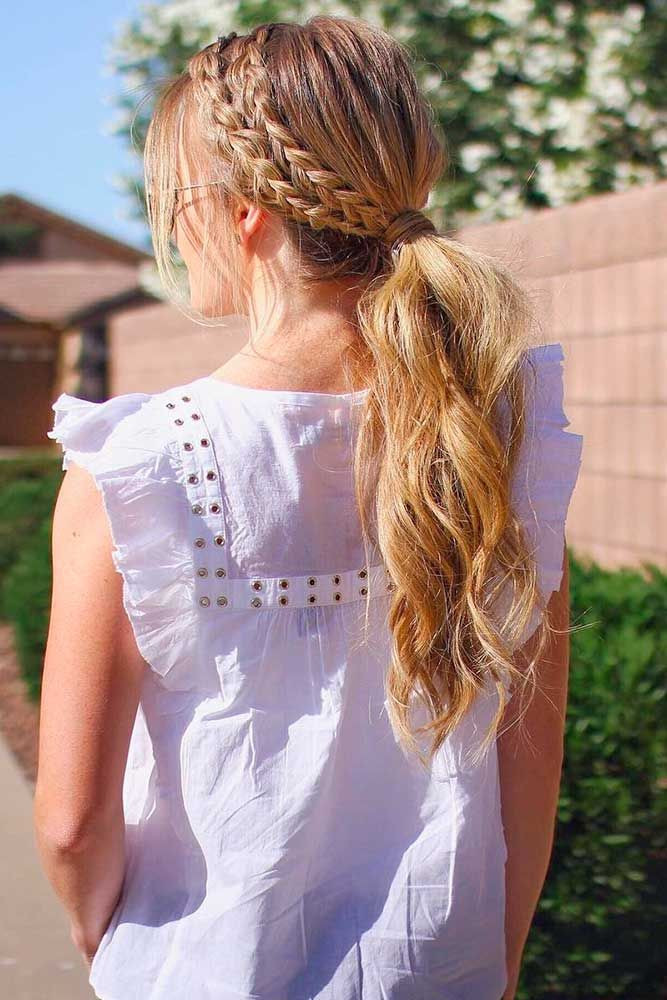 Hairstyle For Girls  Best Ponytail Hairstyles for Girls 2018