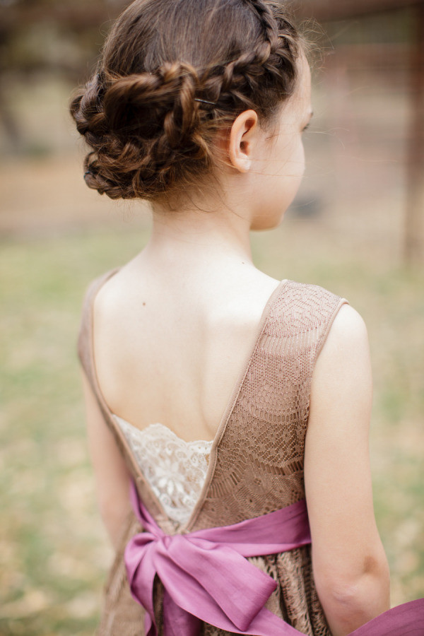 Hairstyle For Girls  38 Super Cute Little Girl Hairstyles for Wedding