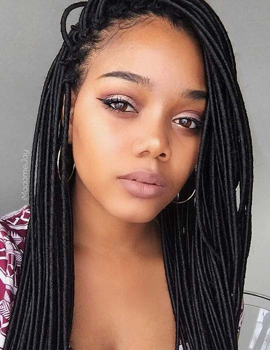 Hairstyles For Faux Locs Crochet  Crochet Faux Locs Styles to Renew your Image crazyforus