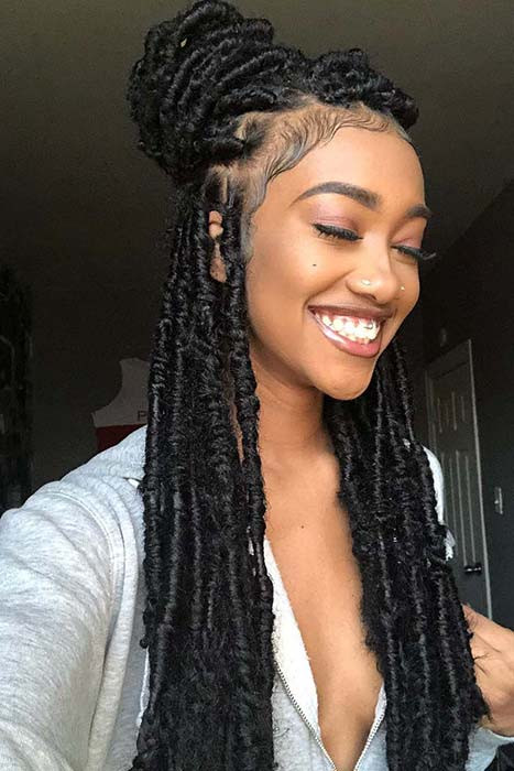Hairstyles For Faux Locs Crochet  17 Trendy Crochet Faux Locs Hairstyles Create your own