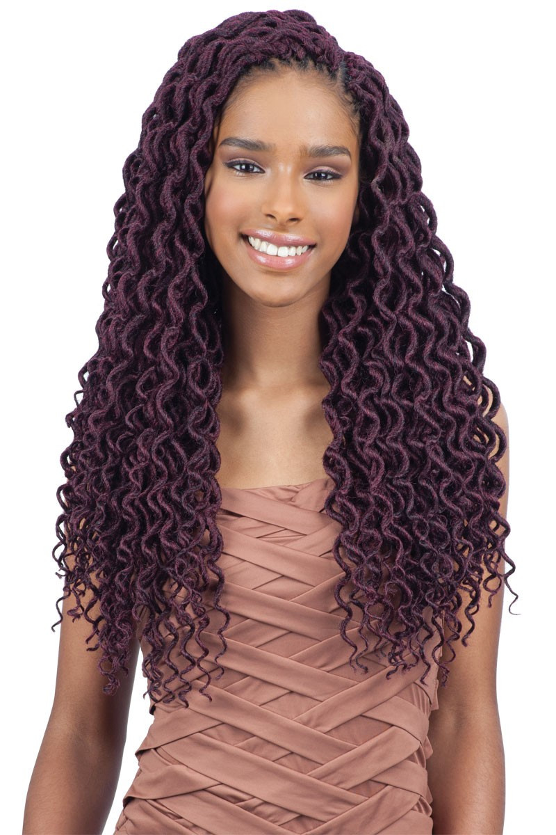 Hairstyles For Faux Locs Crochet  10 Attractive Faux Locs Crochet Hair