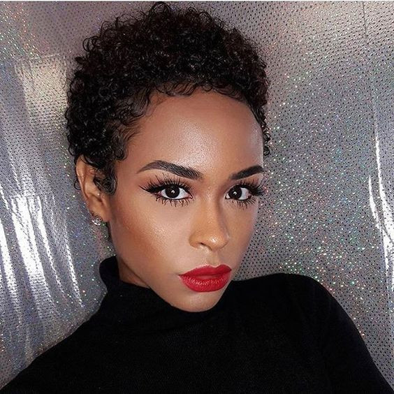 Hairstyles For Short Natural African American Hair  Inspiring 12 Short Natural African American Hairstyles