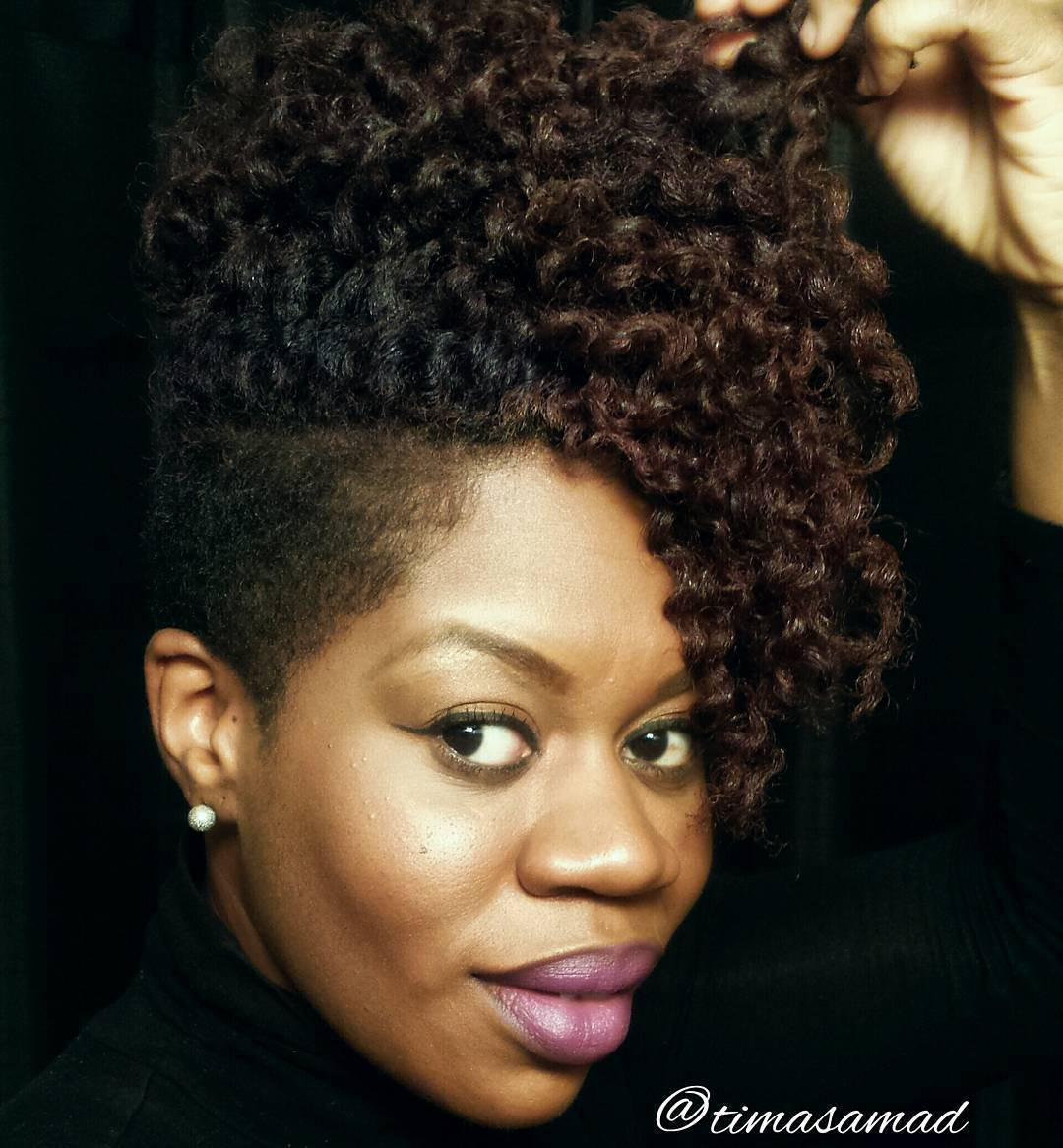 Hairstyles For Short Natural African American Hair  40 Cute Tapered Natural Hairstyles for Afro Hair