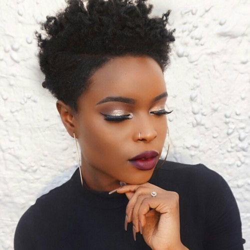 Hairstyles For Short Natural African American Hair  Short Natural African American Hairstyles