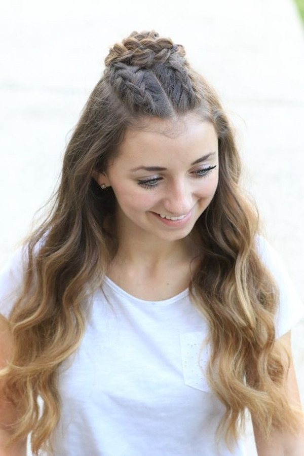Hairstyles For Teen Girls  40 Cute Hairstyles for Teen Girls