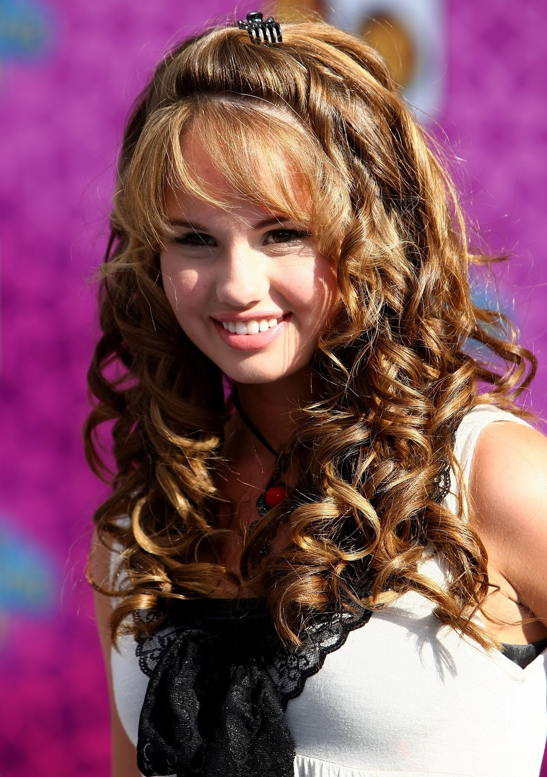 Hairstyles For Teen Girls  Long Curly Brown Hairstyles for Teen Girl from Debby Ryan