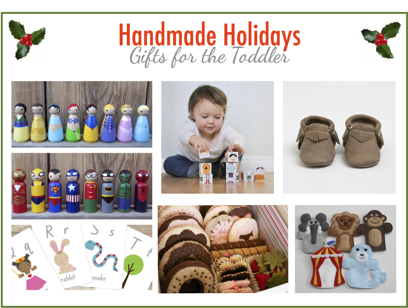Handmade Gifts From Toddlers  Strawberry Swing and other things Handmade Holiday Gift