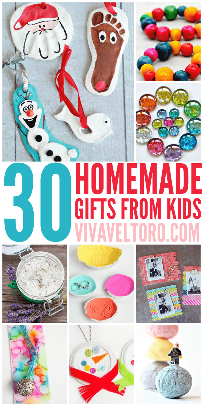 Handmade Gifts From Toddlers  30 Homemade Gifts from Kids Viva Veltoro