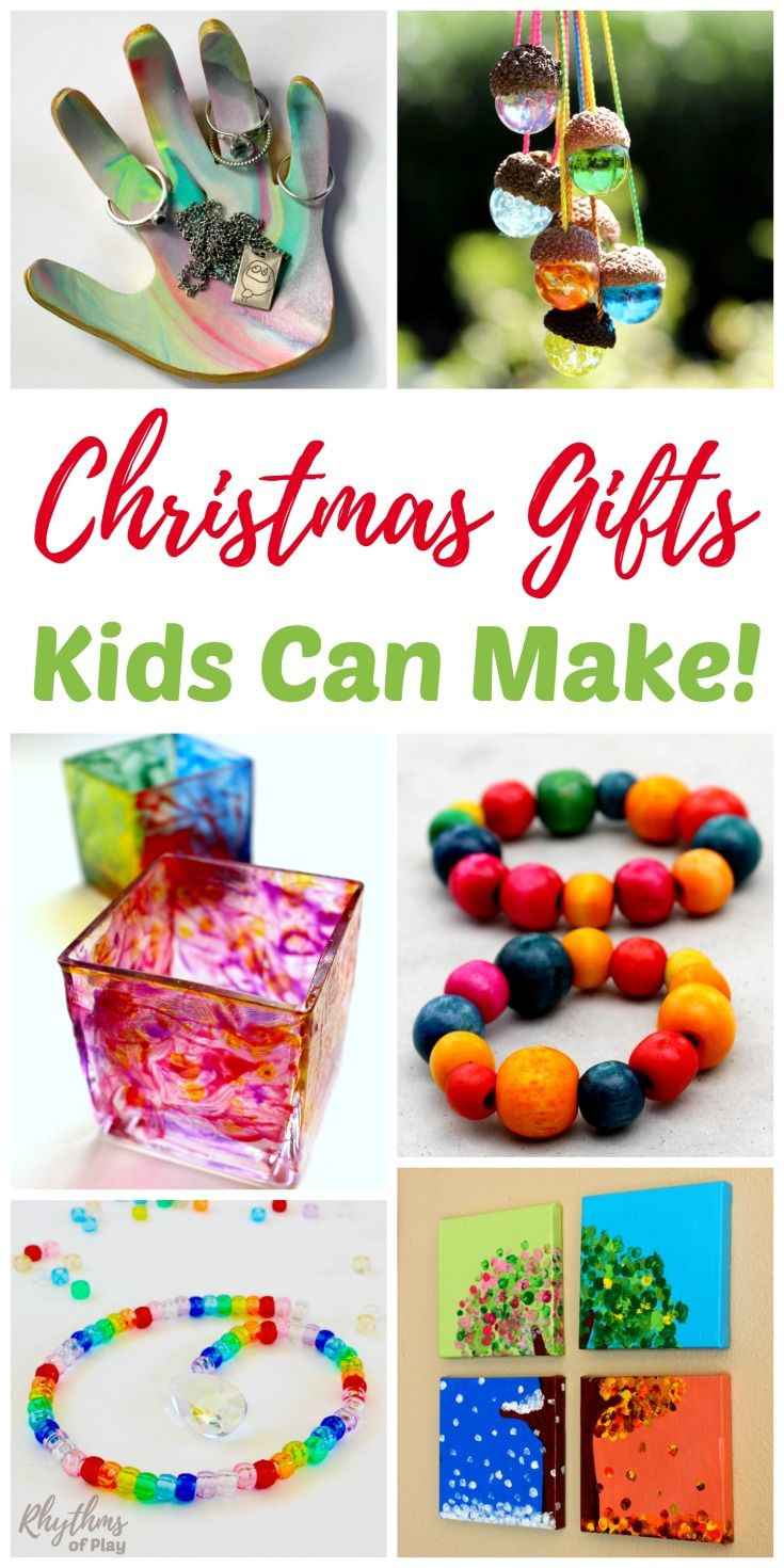 Handmade Gifts From Toddlers  Homemade Gifts Kids Can Make for Parents and Grandparents