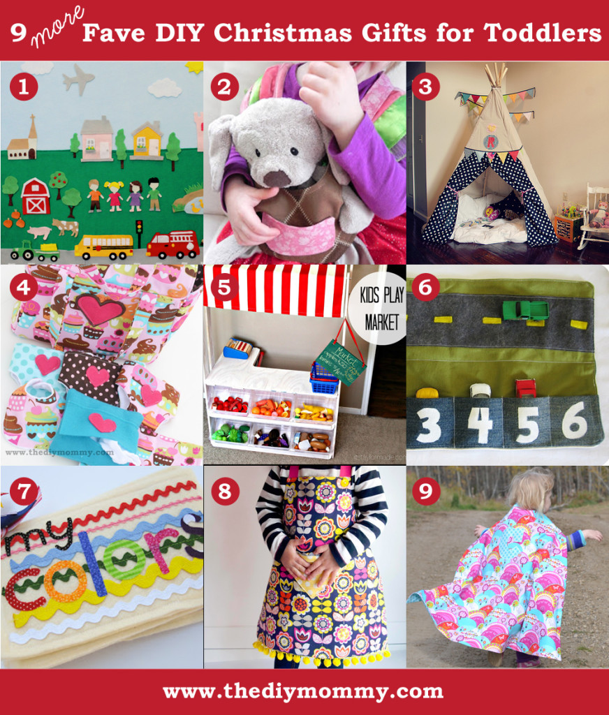 Handmade Gifts From Toddlers  A Handmade Christmas More DIY Toddler Gifts
