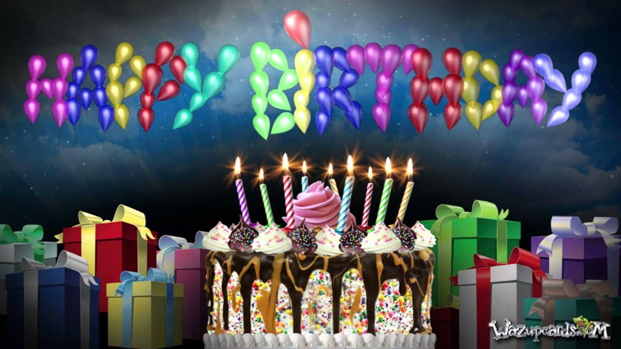 Happy Birthday Cake And Balloons  Happy Birthday Balloons and Cake Party 1