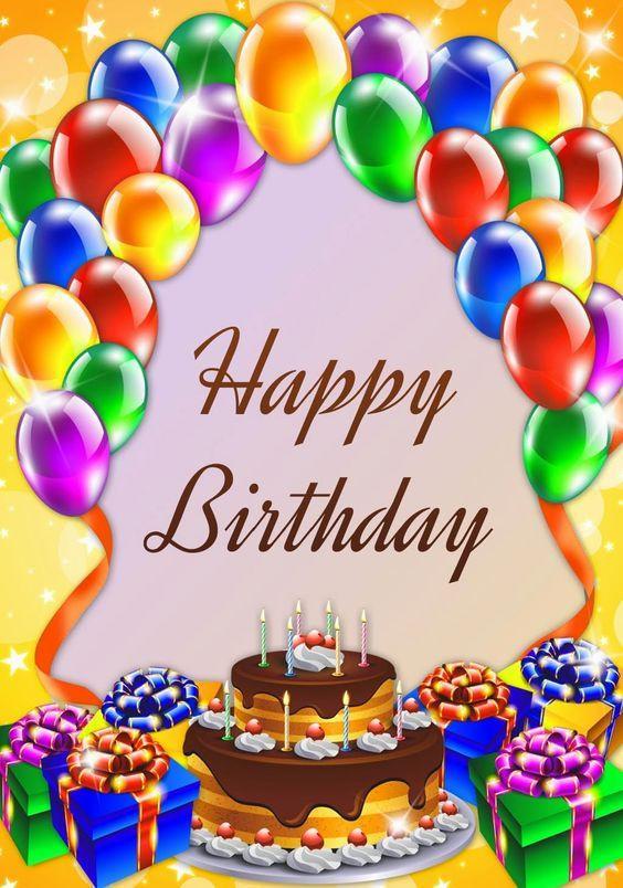 Happy Birthday Cake And Balloons  Happy Birthday Cake And Balloons s and