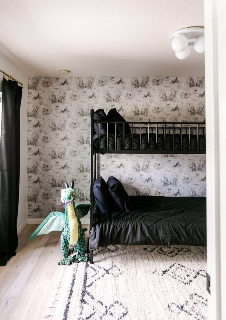 Harry Potter Bedroom Wallpaper  Harry Potter Inspired Bedroom A Beautiful Mess