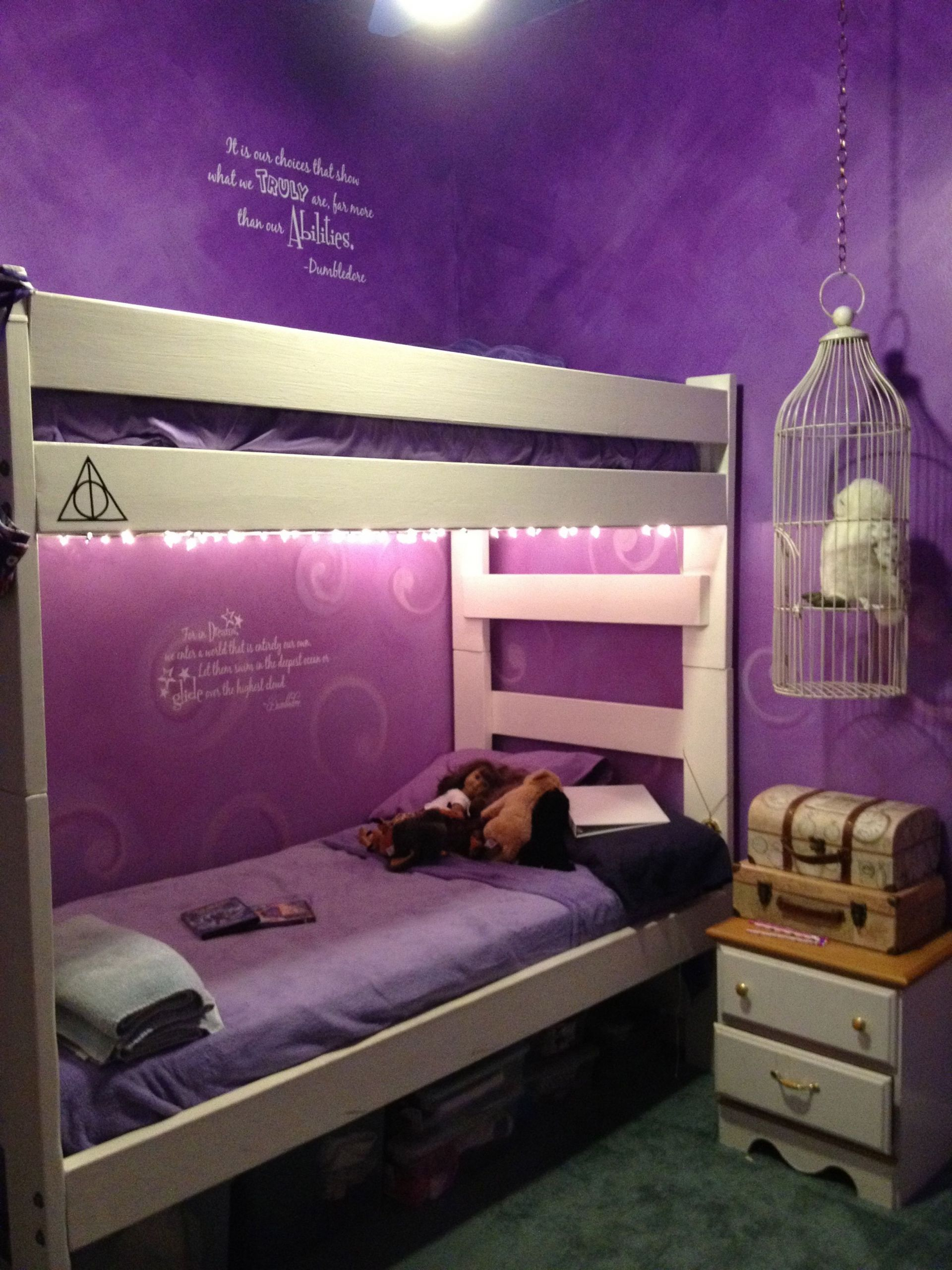 Harry Potter Bedroom Wallpaper  Harry Potter Bedroom I love Harry Potter plus those
