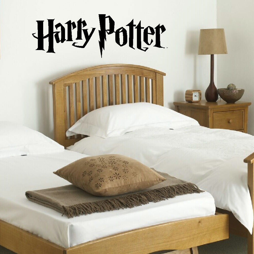 Harry Potter Bedroom Wallpaper  HARRY POTTER Bedroom Wall Mural Giant Art Sticker Matt