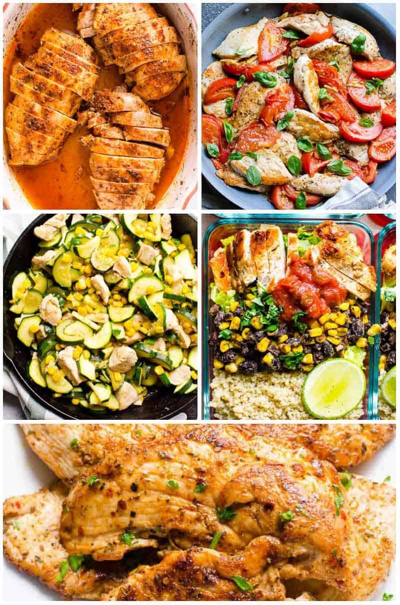 Healthy Dinner Recipes  45 Easy Healthy Dinner Ideas Simple Ingre nts