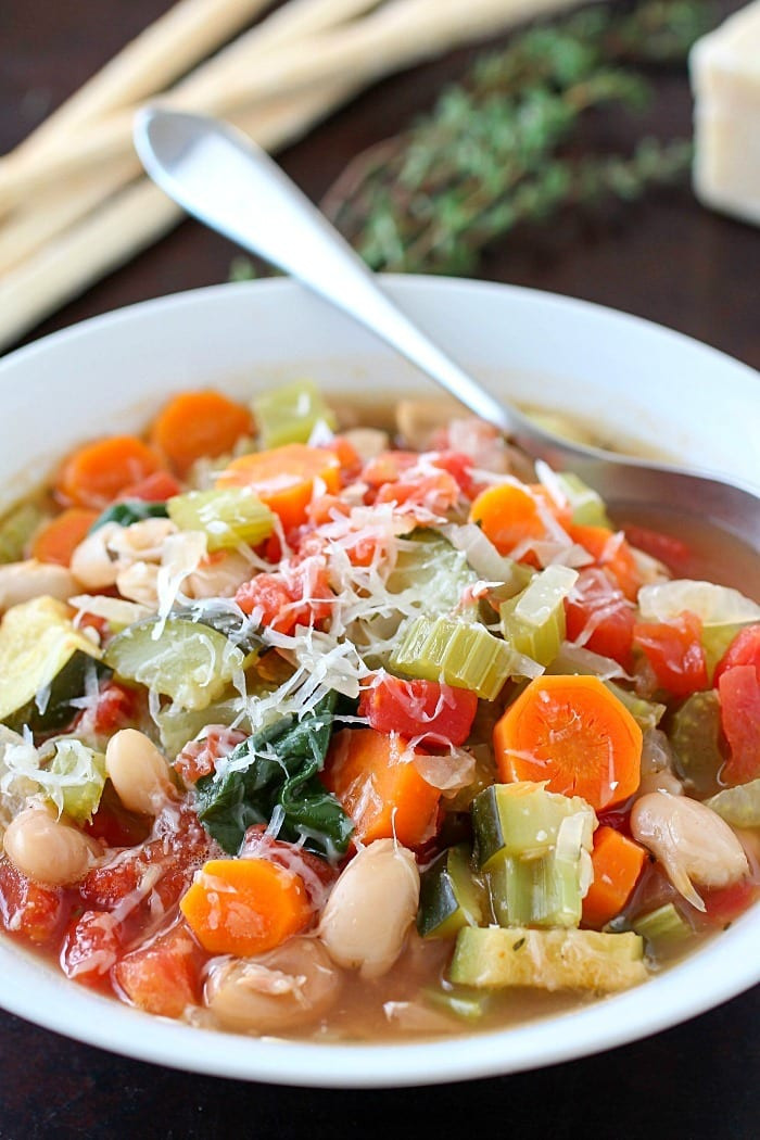 Healthy Soups To Make  Healthy Tuscan Ve able Soup Yummy Healthy Easy