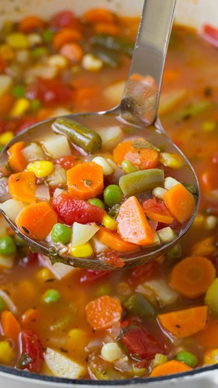 Healthy Soups To Make  Ve able Soup Recipe This soup is pletely delicious