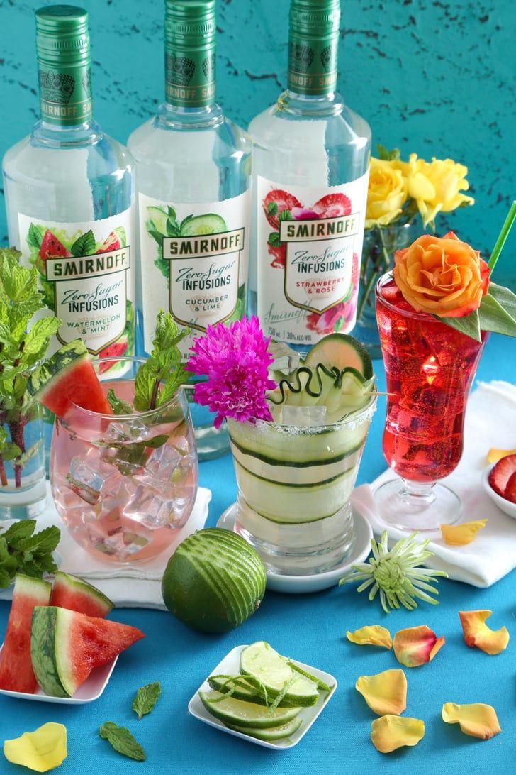 Healthy Vodka Drinks  Smirnoff s New Fruit Flavored Vodka Infusions Have ZERO