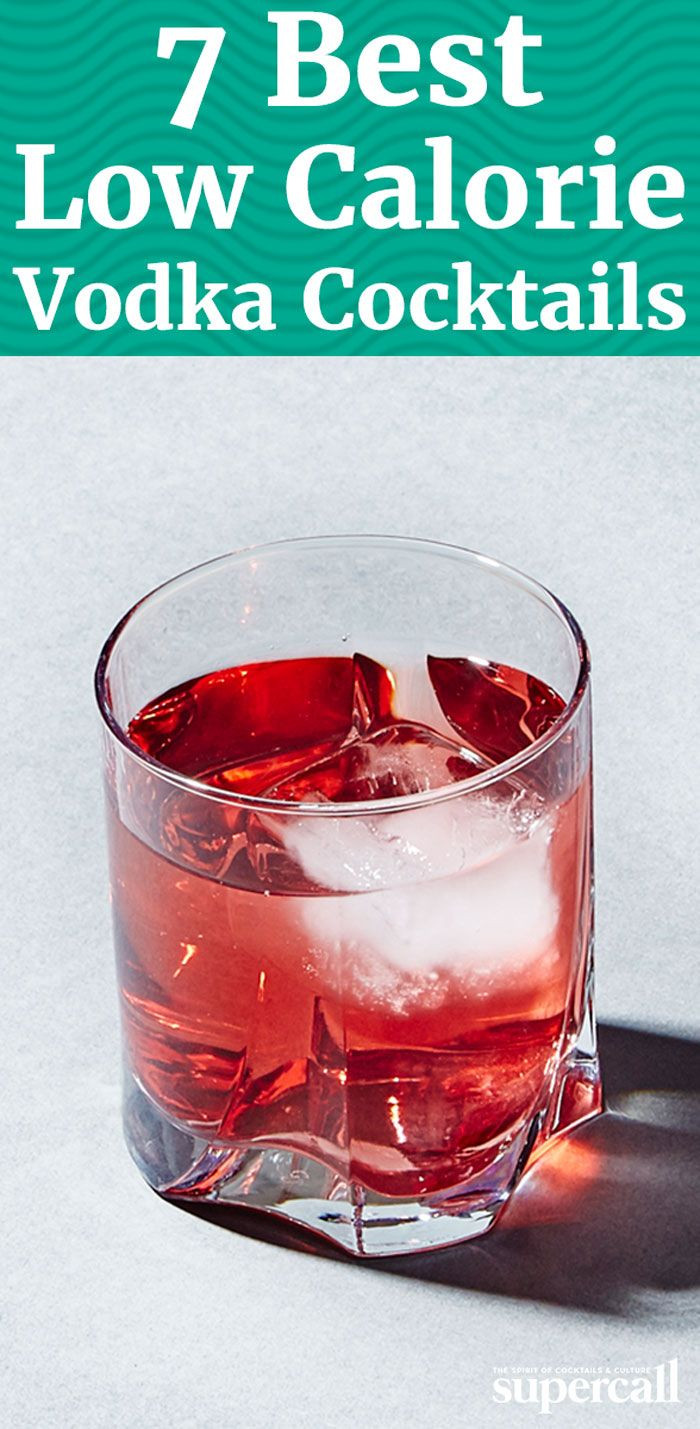 Healthy Vodka Drinks  The 7 Healthiest Vodka Cocktails You Can Order