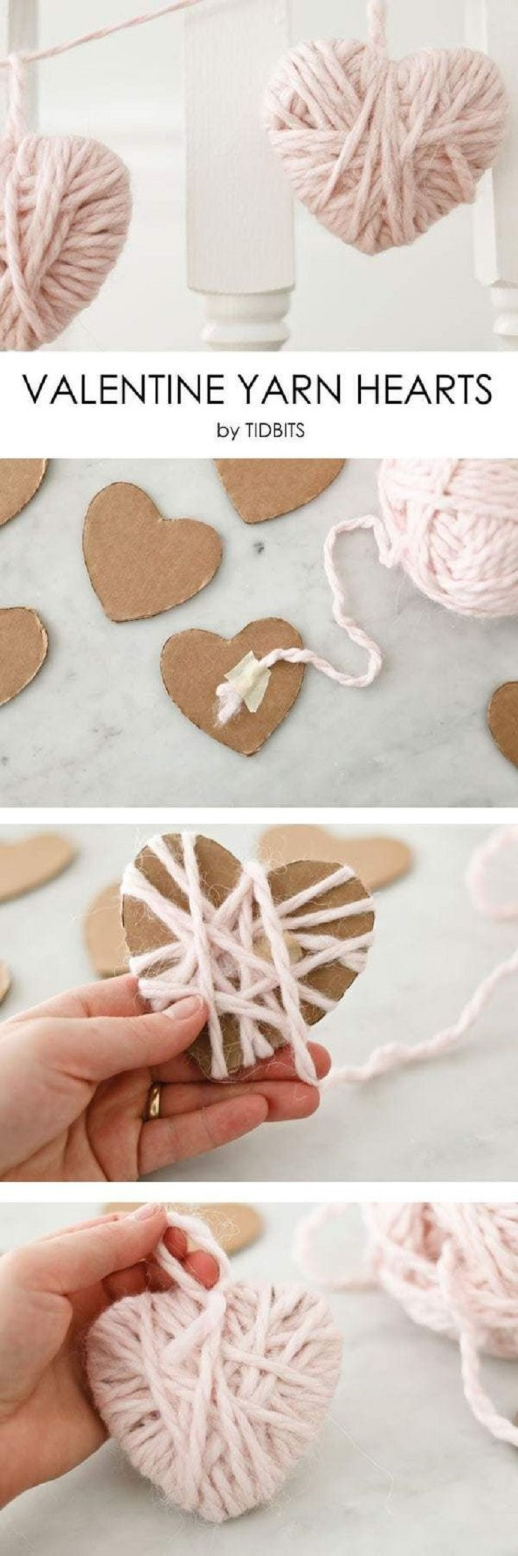 Heart Crafts For Adults  11 Pretty Little Valentine s Day Crafts for Both Kids and